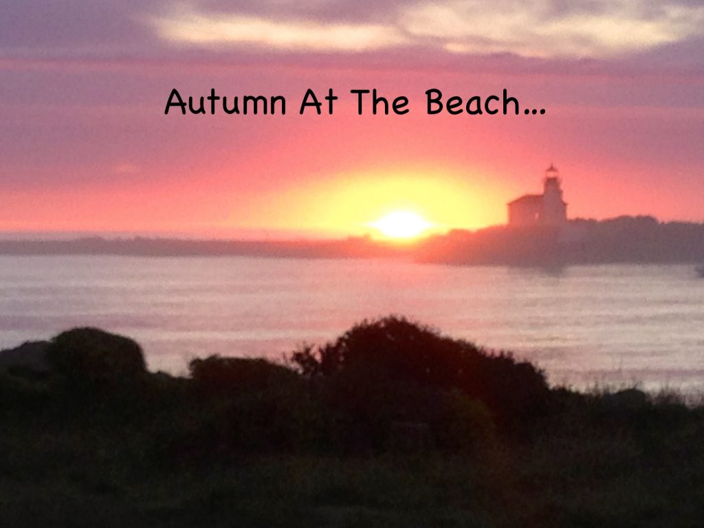 Autumn At The Beach...